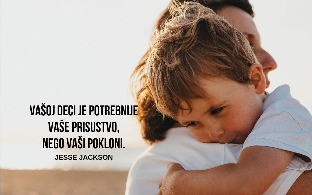 Zna li vaše dete koliko ga volite?