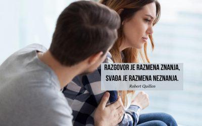 Kako da prestanete da se svađate sa partnerom?